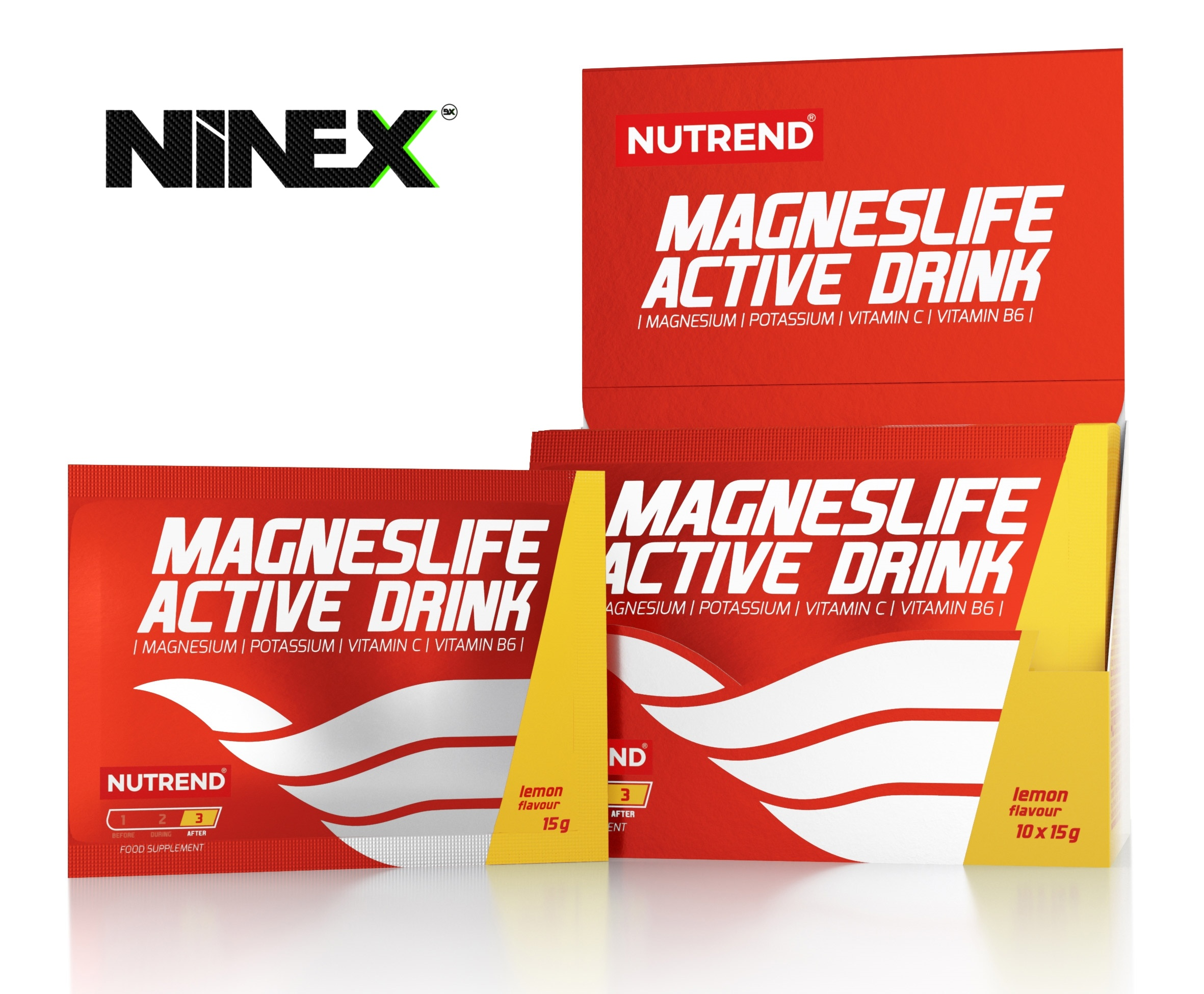 NOVINKA! MAGNESLIFE ACTIVE DRINK