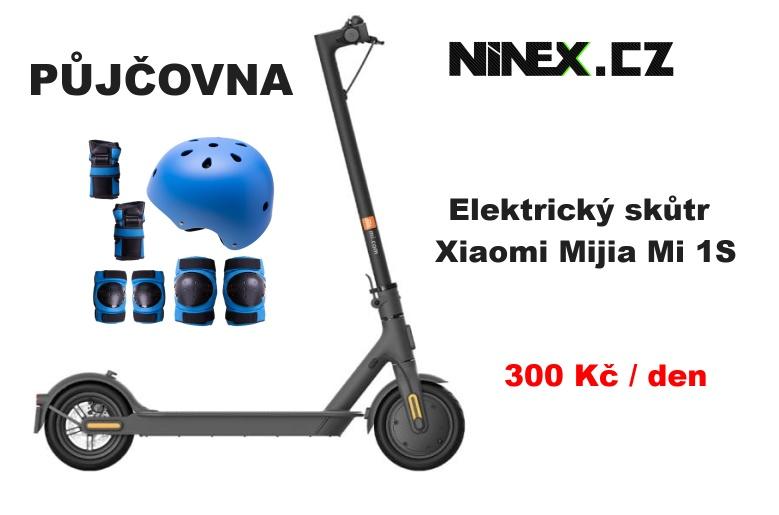 Půjčení Elektrický skůtr Xiaomi Mijia Mi 1S od ninex.cz
